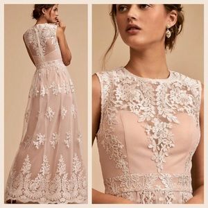 BHLDN Malcolm Overall Lace Sweetheart 4 Gown New